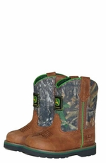 John Deere Infant Boots - Wellington - Brown/Camo