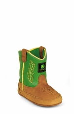 John Deere Infant Soft Sole Boots - Green