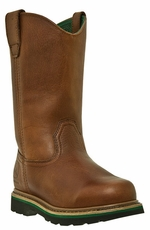 "John Deere Men's 11"" Work Wellington - Brown Walnut (Closeout)"