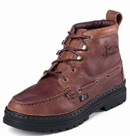 Justin Casuals Men's Rustic Cowhide Sport Chukka