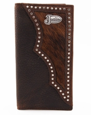 Justin Cowhide Rodeo Wallet - Brown