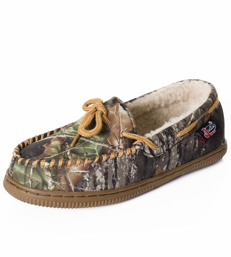 Justin Kids Mossy Oak Moccasin
