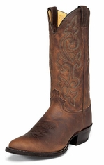 "Justin Men's 13"" Classic Western Bay Apache Cowboy Boots"