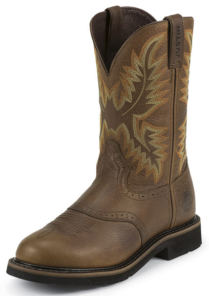 Justin's Original Workboots Men's Stampede Steel Toe 11