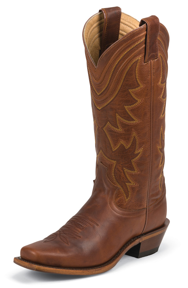 "Justin Women's 13"" Western Collection Boot - Honey"