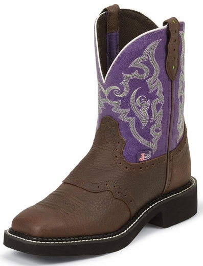 Justin Gypsy Womens Copper Kettle Buffalo Cowboy Boots