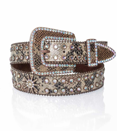 Kamberley Womens Spur Rowel Belt - Copper