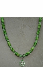 Kid's Lil Chick Glow in the Dark Necklace - Lime Green