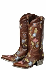 Lane Boots Women's 'Bella' Cowboy Boots - Brown