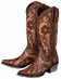 Lane Boots Women's 'Poison' Cowboy Boots - Distressed Brown