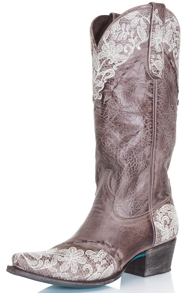 Lane Women's Cowboy Boots in Jani Lace - Langston's