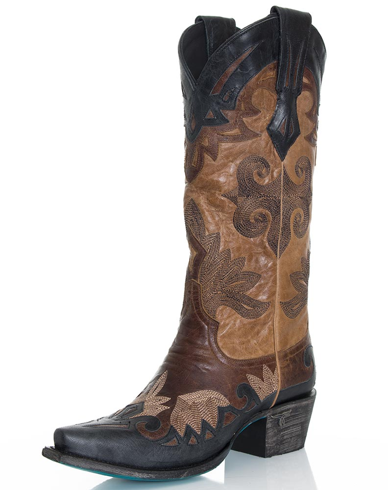Womens Cowboy Boots Black - Boot Hto