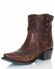 Lane Women's Starry Night Cowboy Boots - Brown