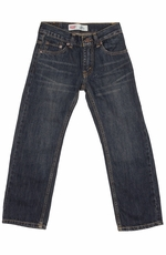 Levi's Boys 505 Regular Fit Jeans - Midnight (Closeout)