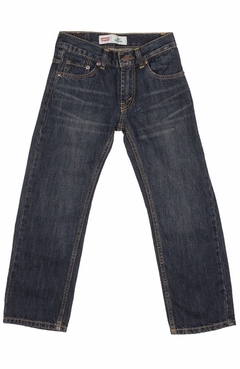 Levi's Boys 505 Regular Fit Jeans - Midnight