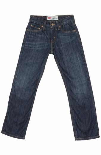 Levi's Boys 514 Straight Fit Jeans - Satellite