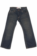 Levi's Boys 527 Boot Cut Jeans - Rusted Rigid (Closeout)