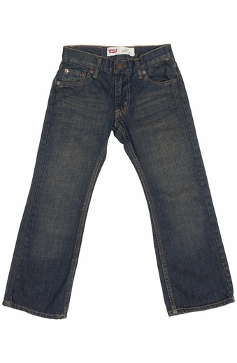 Levi's Boys 527 Boot Cut Jeans - Rusted Rigid