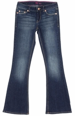 Levi's Girls 524 Skinny Flare Jeans - Electric Sky