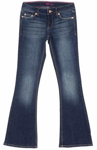 Levi's Girls 524 Skinny Flare Jeans - Electric Sky (Closeout)