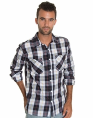 Levi's Men's Long Sleeve Hammer Button Down Shirt - Dark Navy