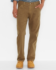 Levi's® Men's New Carpenter Slub Twill Pants - Cougar (Closeout)