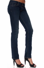 Levi's ® Junior's 524 ™ Straight Jeans - Worn Dark