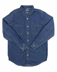 Levi's ® Barry Classic Denim Shirt - Authentic Stonewash