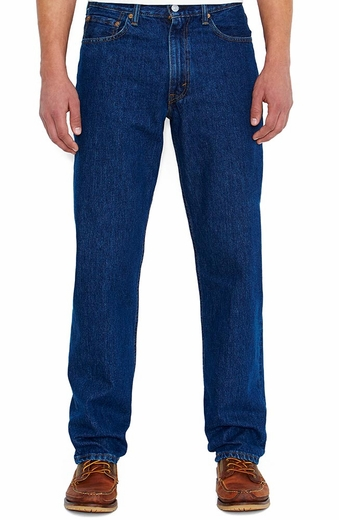 Levi's ® Men's 550 ™ Relaxed Fit Jeans - Dark Stonewash