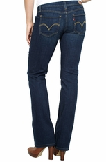 Levi's ® Junior's 524 ™ Boot Cut Jeans - Indigo Commitment (Closeout)