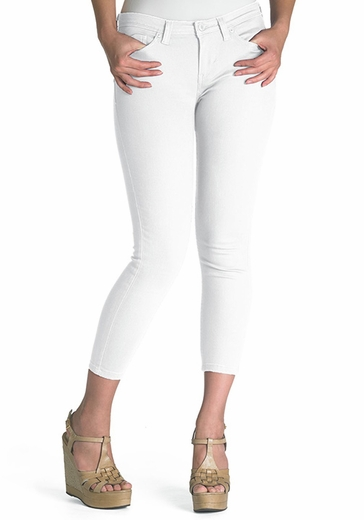 Levi's ® Junior's 524 ™ Cropped Leggings With Notch Pocket - White (Discontinued)