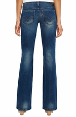 Levi's ® Junior's 524 ™ Too Superlow Boot Jean - Windy Blue