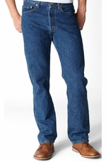 Levi's ® Men's 501 ® Original Fit Jeans - Dark Stonewash