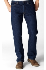 Levi's ® Men's 501 ® Original Fit Jeans - Rinsed Indigo
