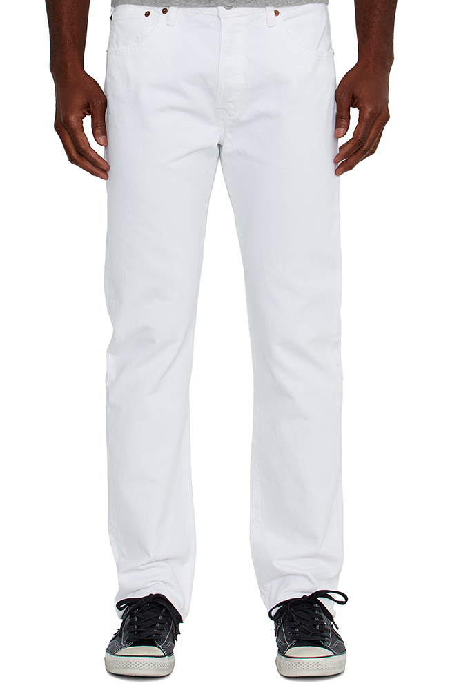 Levi S 174 Men S 501 174 Original Fit Jeans White