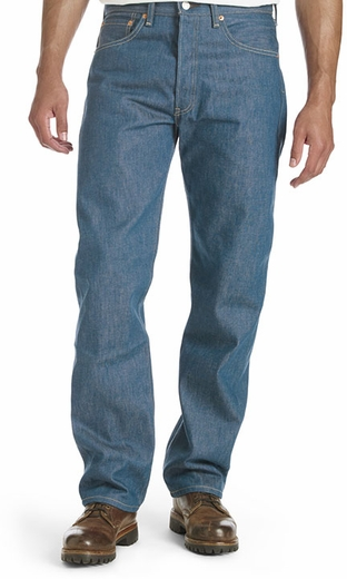 Levi's ® Men's 501 ® Original Shrink-to-Fit ® Jeans - Indi-Navy (Closeout)
