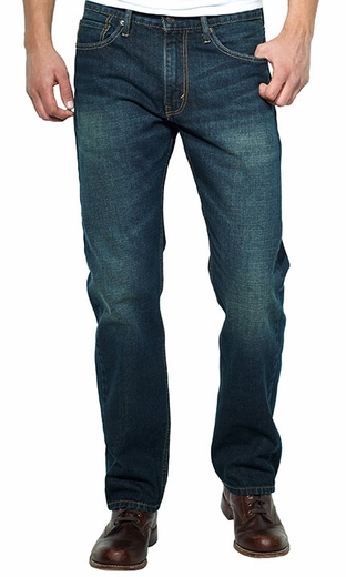 Levi's ® Men's 505 ™ Regular Fit Jeans - Green Frost