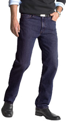 Levi's ® Men's 505 ™ Regular Fit Jeans - Rinsed Indigo