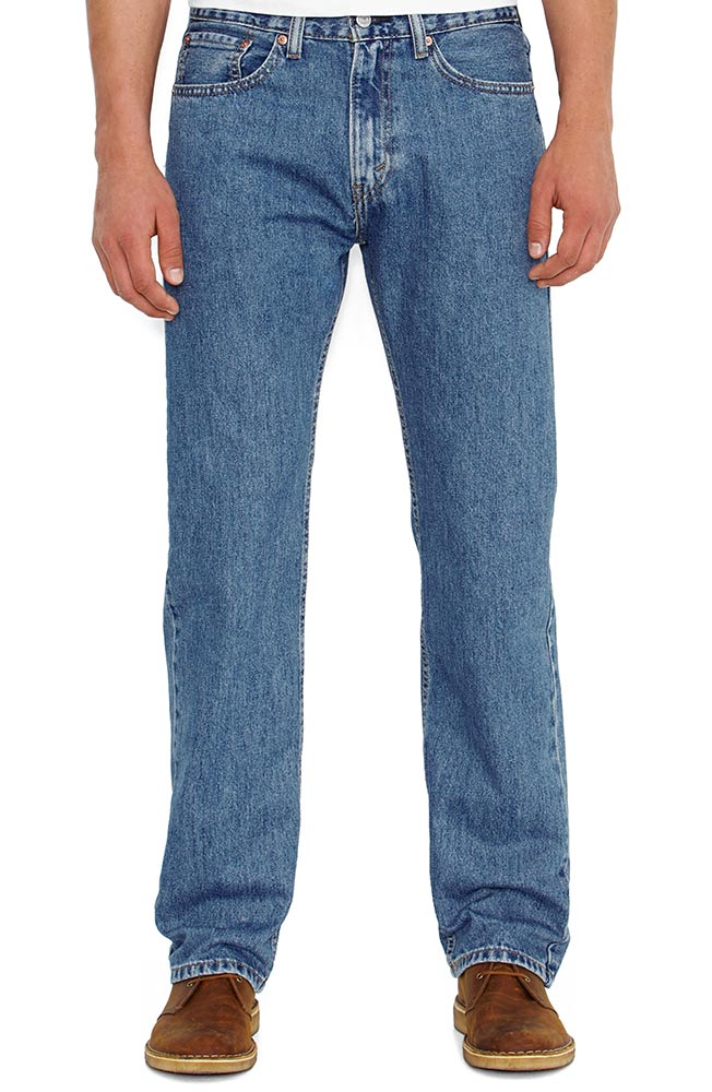 Levi's ® Men's 505 ® Regular Fit Jeans - Authentic Stonewash