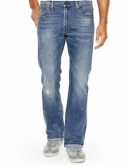 Levi's ® Men's 527 ™  Slim Low Bootcut Jeans - Damaged Stone