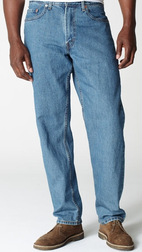 Levi's ® Men's 550 ™ Relaxed Fit Big & Tall Jeans - Stonewashed (Discontinued)