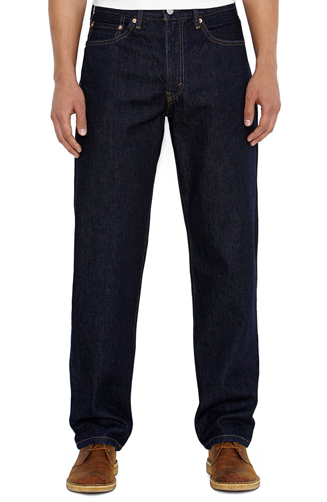 Levi's ® Men's 550 ™ Relaxed Fit Jeans - Rinsed Indigo