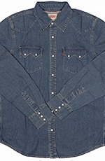 Levi's ® Men's Long Sleeve Denim Snap Work Shirt - Stonewash Tint