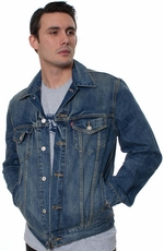 Levi's ® Men's New Fit Trucker Jacket - Dark Summit