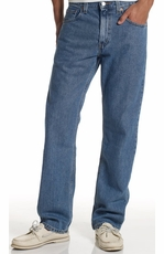 Levi's ® Men's 505 ™ Regular Fit Jeans - Authentic Stonewash