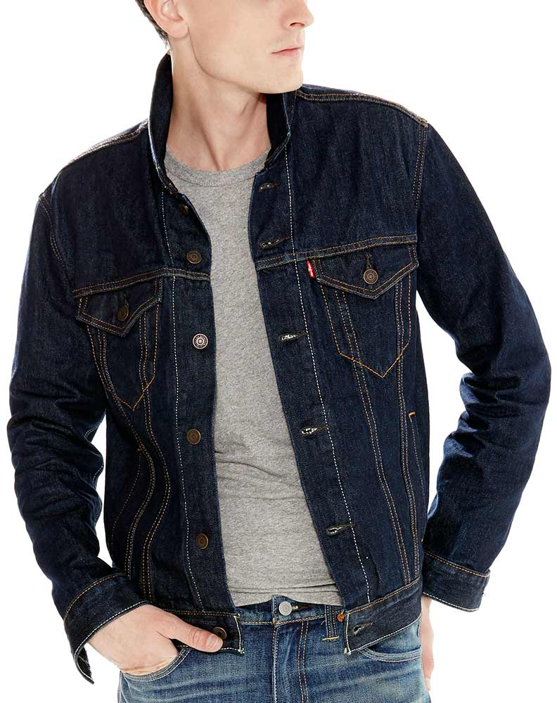 Levi's ® Men's Trucker Jacket - Rinse