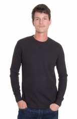 Levi's ® Mens Long Sleeve Thermal Western Shirt - Black or Green