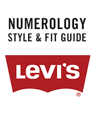 Levi's ® Numerology - A Levi's ® Jeans Style and Fit Guide