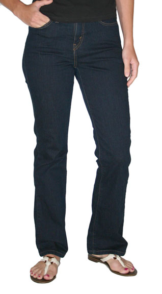 Levi's ® Women's 512 ™ Boot Cut Jeans - Indigo Rinse (Closeout)