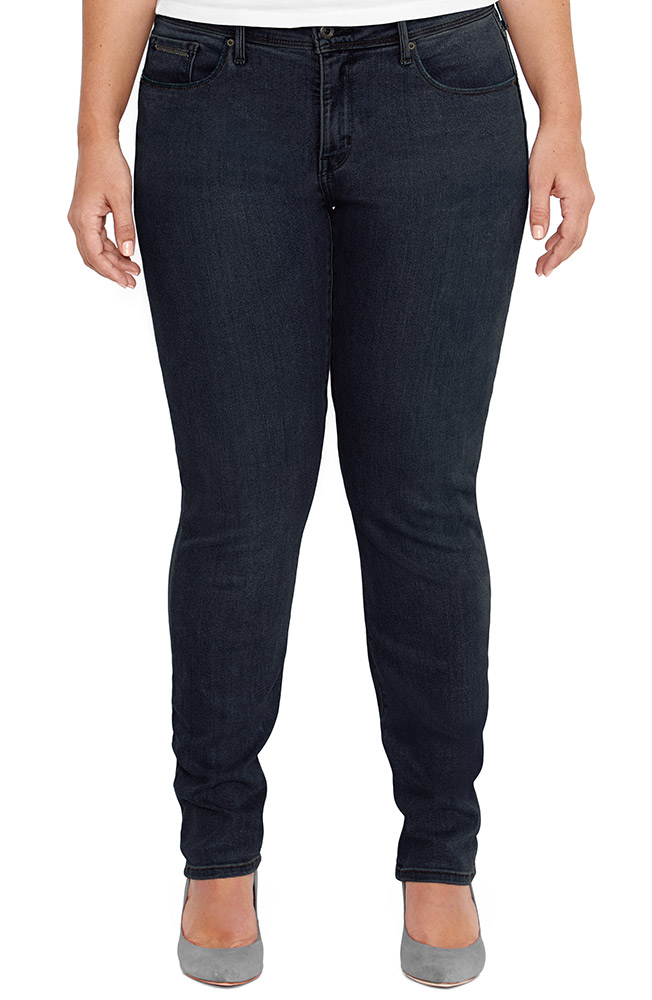 Levi's ® Women's 512 ™ Plus Boot Cut Jeans -  Deep Night with Undercurrent (Closeout)